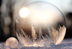 冬イメージ 結晶